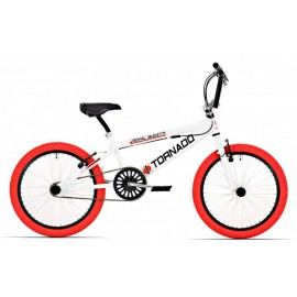 Royal Bugatti Freestyle 20 inch BMX kinderfiets Wit/Rood