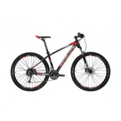 Shockblaze R5 H16 27.5 inch mountainbike Black Red Shimano 24SP