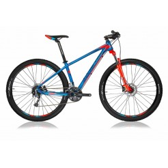 Shockblaze R5 H16 27.5 inch mountainbike Blue Red Shimano 24SP