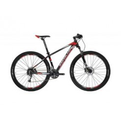 Shockblaze R5 H20.5 29 inch mountainbike Black Red Shimano 24SP HDISCB