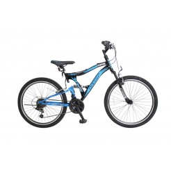 Umit Albatros 24 inch mountainbike Blue/Black