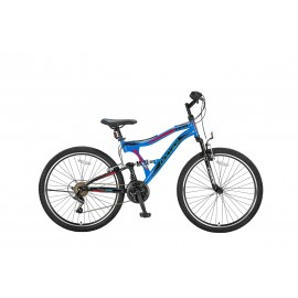 Umit Albatros 24 inch mountainbike Red/Black