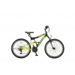 Umit Albatros 24 inch mountainbike Yellow/Black