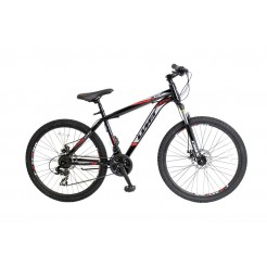 Umit Arcus 2D 26 inch mountainbike Black/Red