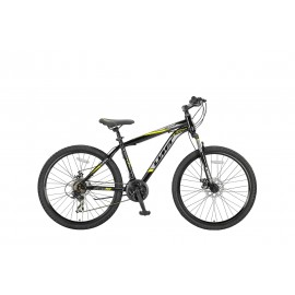 Umit Arcus 2D 26 inch mountainbike Black/Yellow