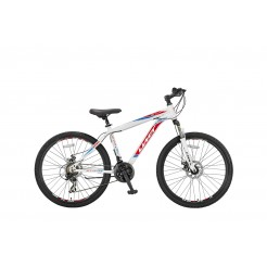 Umit Arcus 2D 26 inch mountainbike White/Red
