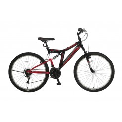 Umit Blackmount 26 inch MTB Red/Black