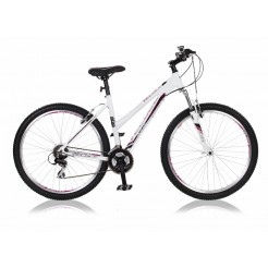 Veloce Legion 27.5 18 inch mountainbike Wit Paars 21SP