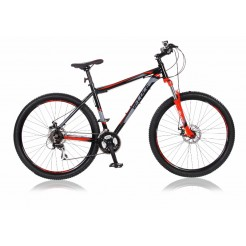 Veloce Revolution 27.5 19 inch mountainbike Zwart/Rood 21SP