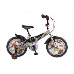 Bisiklet BK Generator REX 16 inch Grijs/BL jongensfiets